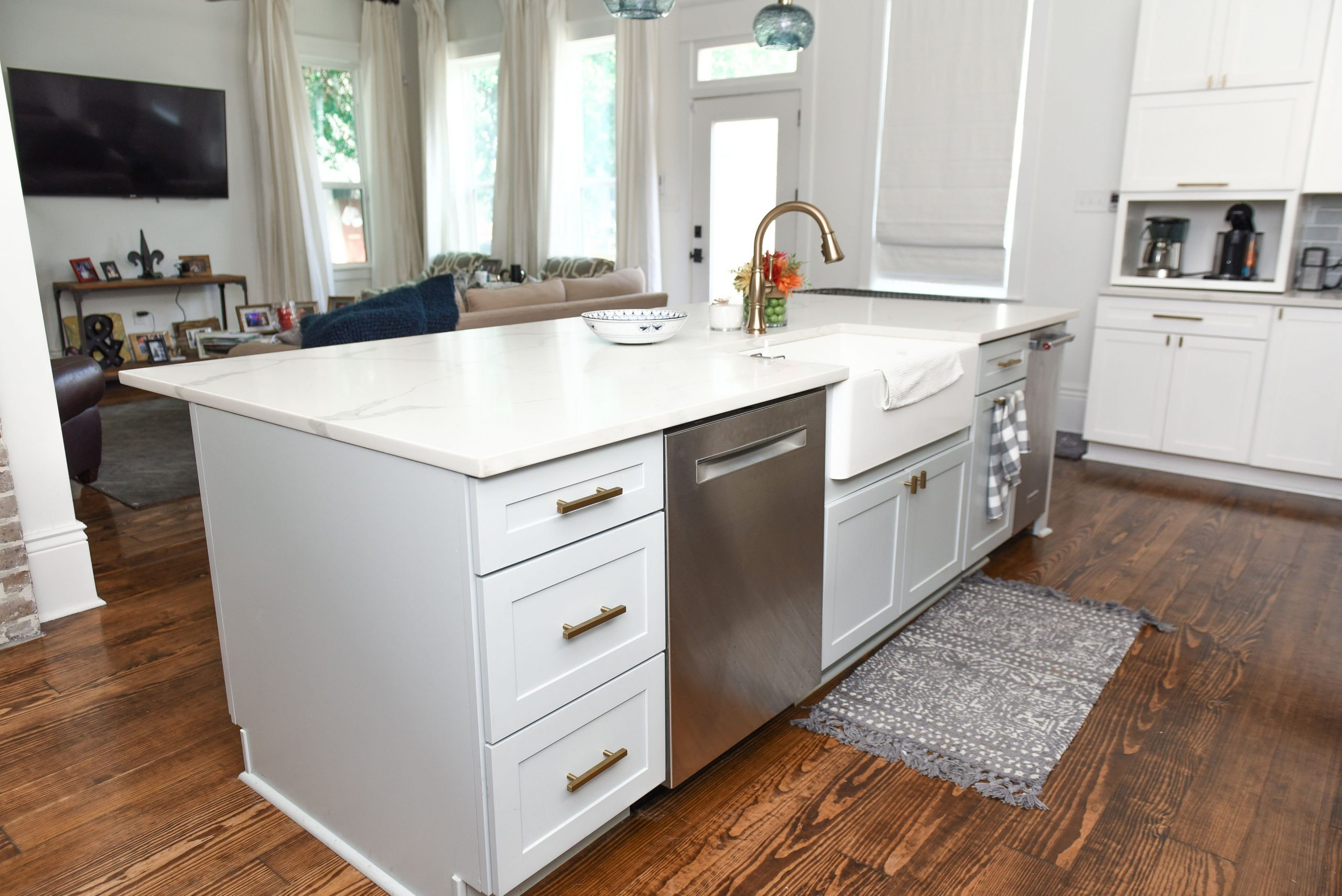 How To Build A Kitchen Island With Sink And Dishwasher?